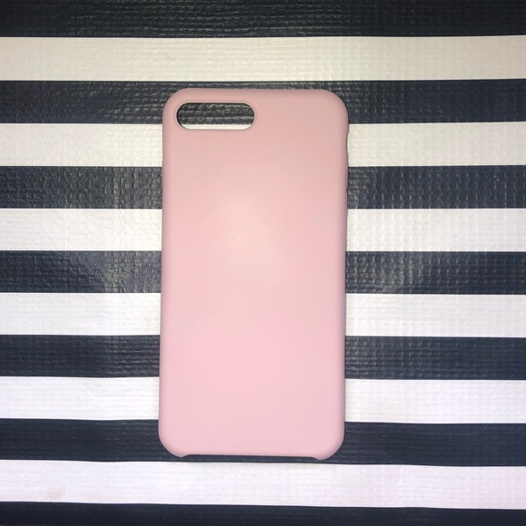 surphy Accessories - Pink Silicone iPhone 6/7/8 Plus Case
